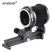 Andoer – soufflet de Macro-compréhension pour objectif Nikon F D90 D80 D60 D7100 D7000 D5300 D5200 D5100 D3300 D3100 D3000 Al SLR
