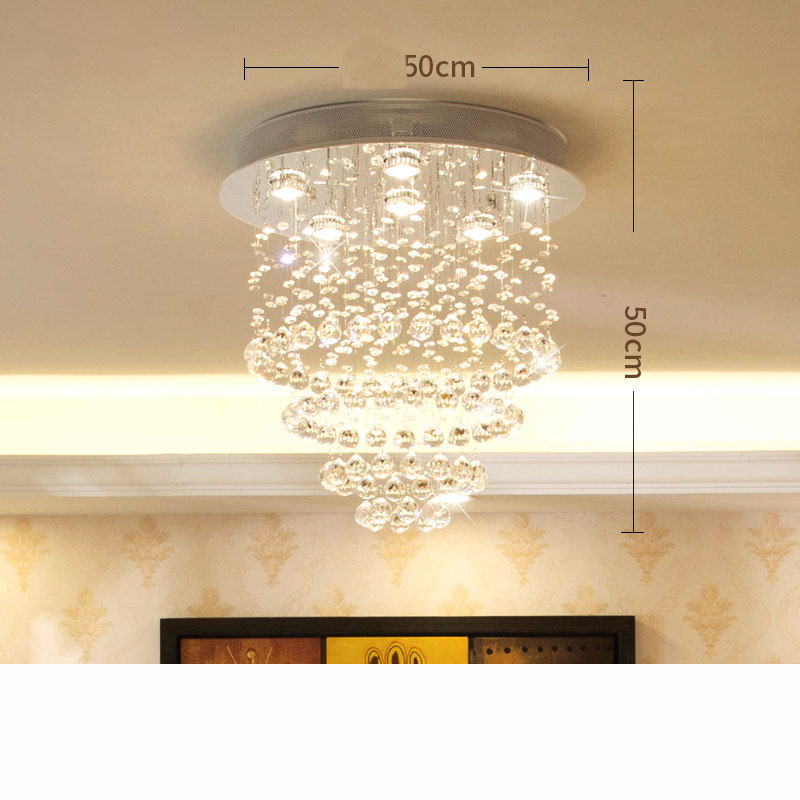 Merveilleux Modern Crystal Chandelier Lighting Large Pendant Lamp Fixtures Hotel  Projects Staircase Lamps Restaurant Cottage Lights In Chandeliers From  Lights ...