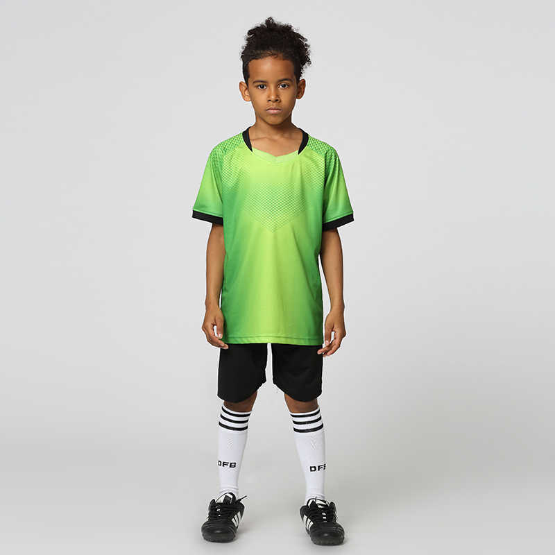 High Quality Soccer Jerseys 2018 2019 Kids Football Jersey Training Dress Blank Men Soccer Jerseys Set Kids Soccer Sets Uniforms Aliexpress