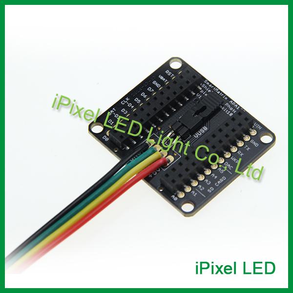 Facilmente escrever código para conduzir os LEDs usando o SmartMatrix