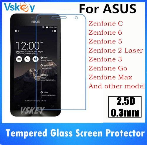 bilder für 20 stücke 2.5D Gehärtetem Glas Für ASUS Zenfone ZenFone 5 A500KL 6 A500CG Live ZB501KL/ZOOM ZX551ML/MAX ZC550KL Displayschutzfolie