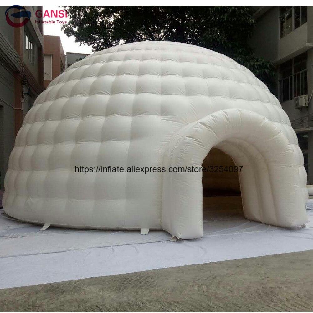 5 м надувные бар палатка купол гигантского события Иглу Палатка Надувные оксфорд палатки со светодиодной подсветкой