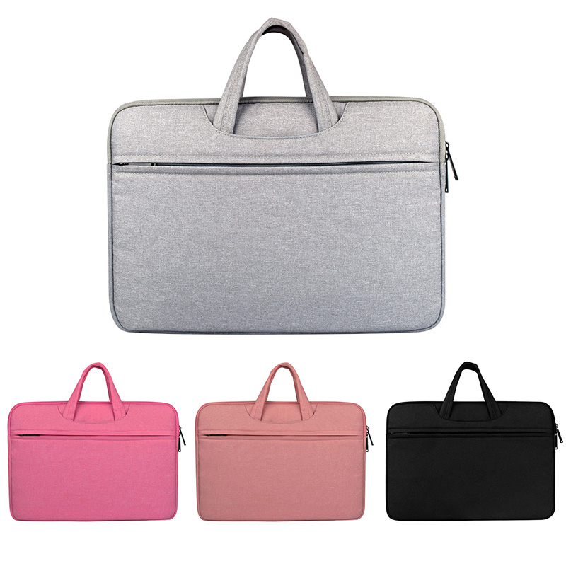 New 11.6/12/13.3/14/15/15.6Inch Portable Computer Bag Oxford Waterproof Laptop Handbag For Macbook Air Pro Lenovo ASUS Sony