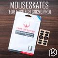 Hotline jeux 2 ensembles/pack original niveau de compétition souris pieds patins gildes pour logitech g102 g pro 0.6mm épaisseur téflon