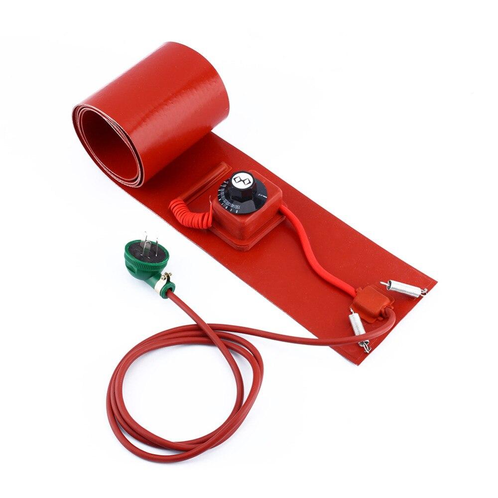 200L/55Gallon 240V 1000W Silicon Metal Oil Drum Heater Dgz Car Accessories Silicon Heater