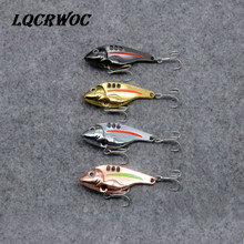 Hot NEW Metal Fishing Lures Spoon lure Sequins spinnerbait vibrating light pesca japan tackle trolling jigging baits ice winter
