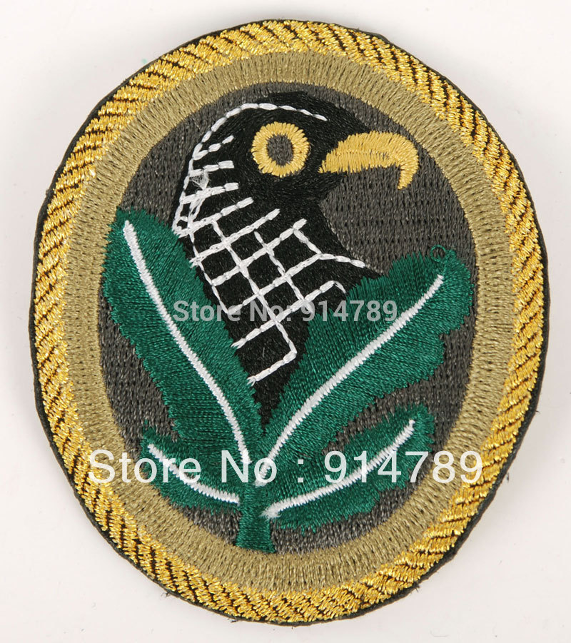 WW2 GERMAN SNIPER INFANTRY BIRDHEAD ARMBAND PATCH-33307