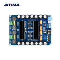 AIYIMA TPA3116D2 DC12V 24V 150W *2 Audio Digital Amplifier Board High Power 2 channels car amplifiers boards With Boost