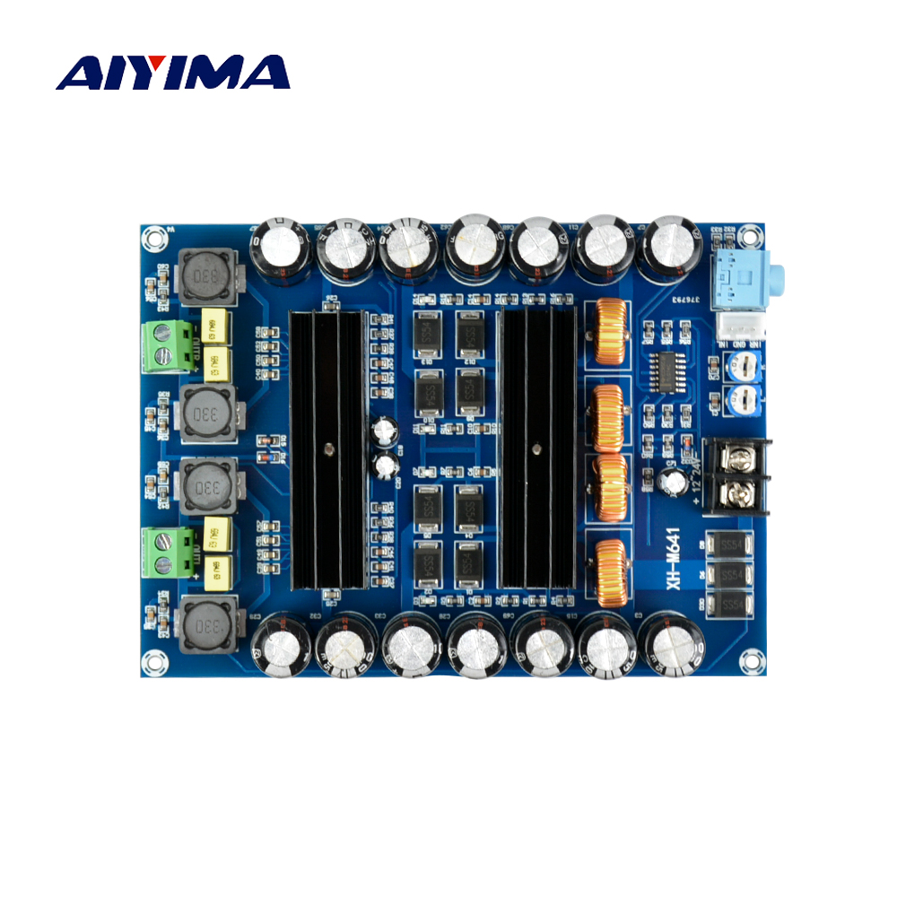 TPA3116D2 DC12V 24V 150W *2 Audio Digital Amplifier Board High Power 2 channels car amplifiers boards With Boost