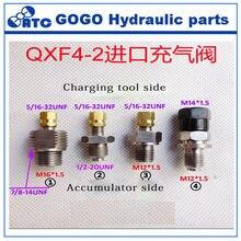 Valve de charge d'accumulateur pour nitrogène, pour NXQ type 5/16 – 32UNF