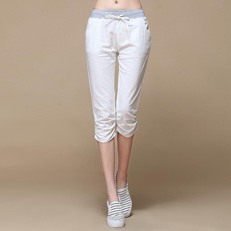 Womens Linen Capris Promotion-Shop for Promotional Womens Linen ...