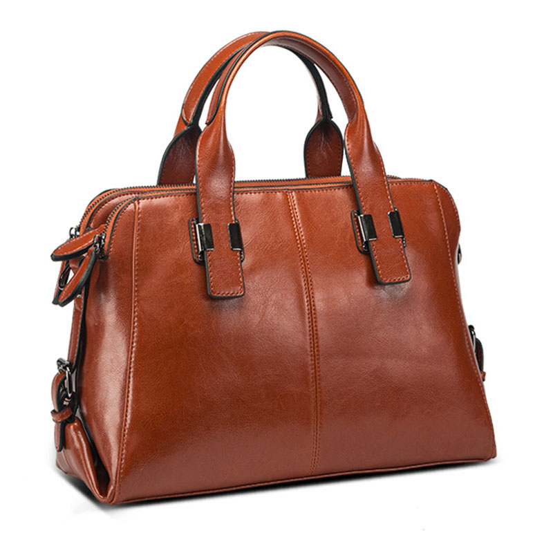 Real Cowhide Women Handbags Hot Sell genuine leather shoulder bags fashion simple woman messenger bags салатник pasabahce red serenade цвет красный диаметр 23 см