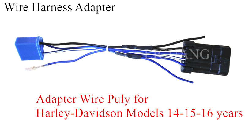 7 U0026quot  Daymaker Led Headlight Wiring Harness Adapter For
