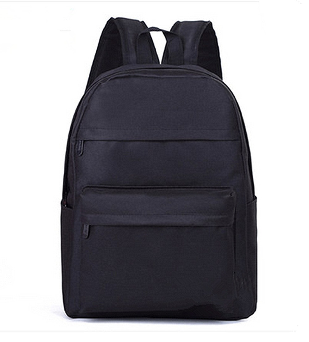 Contracted Canvas Backpack Female College Pure Color Students Computer Bag Leisure Travel Backpack LY1709 free shipping 2014 boom bag leisure contracted one shoulder bag chain canvas bag