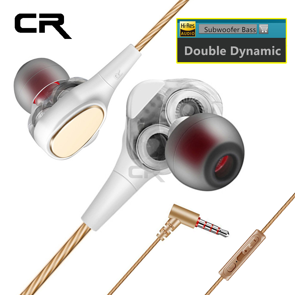 Sport Headphone Wired 3.5mm In-Ear Earphone for Phone HiFi Bass Headphones With Mic for Samsung Xiaomi Huawei Cellphone Computer vjjb n1 in ear earphone double dynamic diy hifi bass auriculares with mic cable audio cable for phone tablet computer