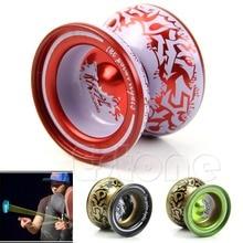 цена на 2018 NEW Kids Children Professional Toys Alloy Yo-Yo Ball Bearing String Aluminum Gift yoyo profissional