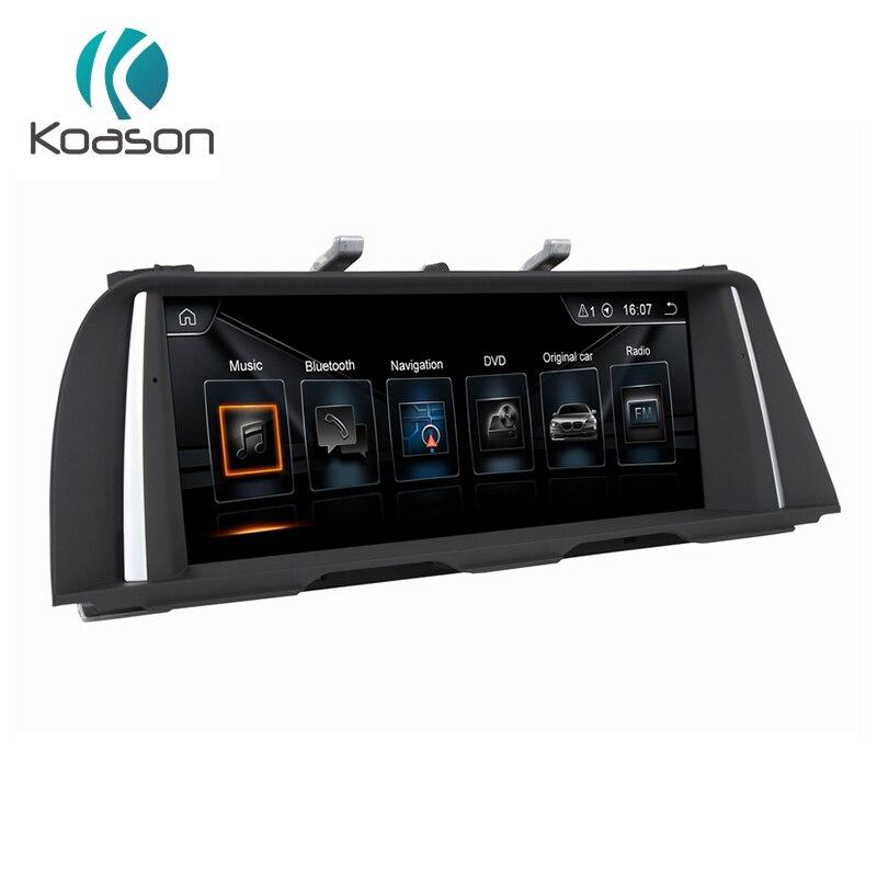 Koason Android 7.1 2G + 32G voiture stéréo 10.25 pouces écran tactile lecteur multimédia Audio GPS Navigation pour BMW série 5 F10 F11 CIC