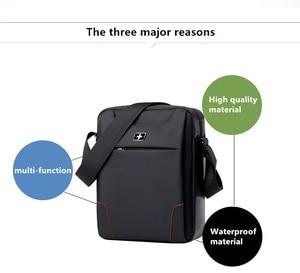 Image 5 - SWICKYผู้ชายแฟชั่นมัลติฟังก์ชั่ธุรกิจท่องเที่ยวกันน้ำ 10.1 นิ้วiPadข้ามแพคเกจกระเป๋าเดียว