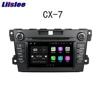Liislee 2 Дин навигации gps для Mazda CX 7 2012 ~ 2013 Android видео Радио сенсорный экран стерео Мультимедийный плеер Bluetooth