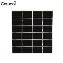 2W 6V Solar Panel For Battery Cell Phone Chargers Portable Solar Cell Monocrystalline Silicon+Eetfe Monocrystalline цена