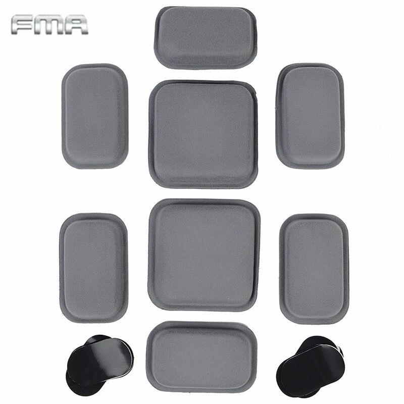 Prix pour FMA TB768 De Protection Pad pour CP Style Casque Paintball Wargame Haute Collant Autocollant Casque Coussin Pad Chasse Accessoires