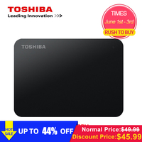 Original Toshiba 1TB 500GB External HDD 2.5 USB 3.0 5400RPM External Hard Drive 1TB Hard Disk Drive for Laptop Computer PC