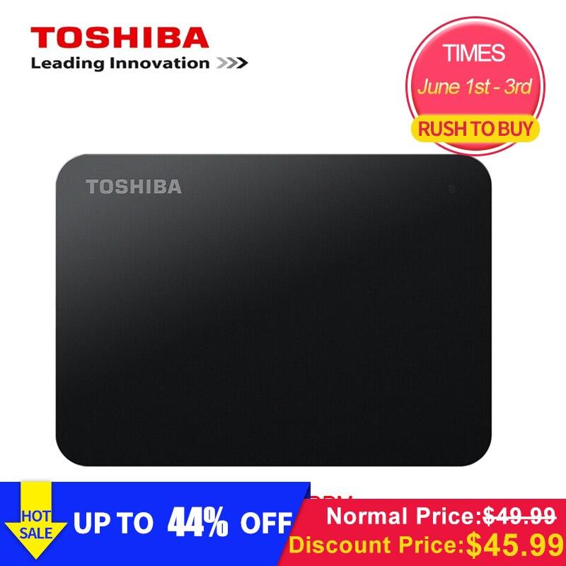 Original Toshiba 1TB Externo de 500GB HDD 2.5