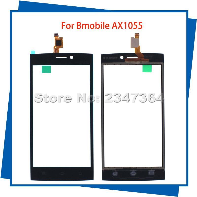 For Bmobile AX1055 1055 5inch Touch Screen 100% Guarantee Mobile Phone Touch Panel Digitizer Assembly Free Tools