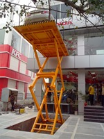 European Quality hydraulic stationary electric scissor lift used for parking auto car