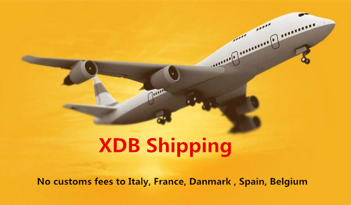 XDB Shipping Including Prepaid Customs Taxes for Carbon Wheels to Italy France Netherlands Spain Belgium