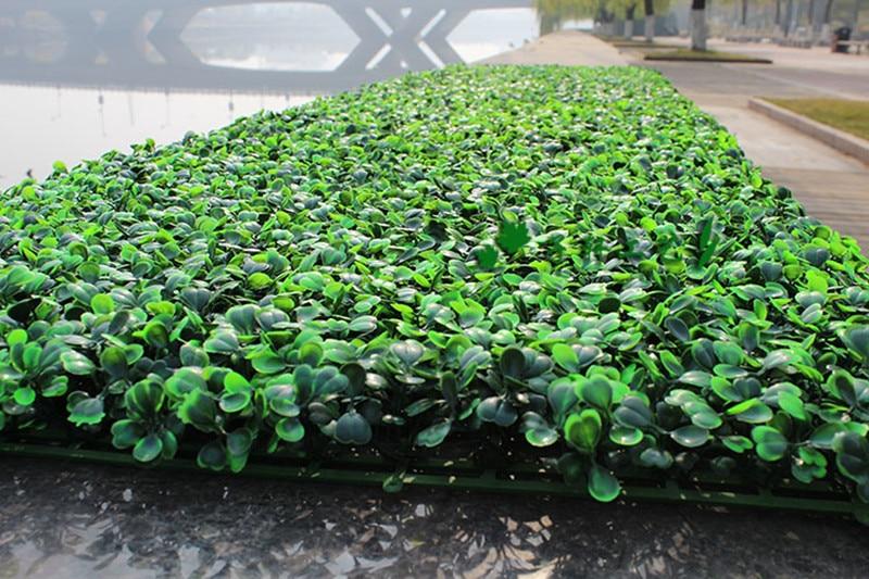 Siepi Da Giardino Finte : Artificiale siepi da giardino piante 200 pz 25x25 cm piante finte