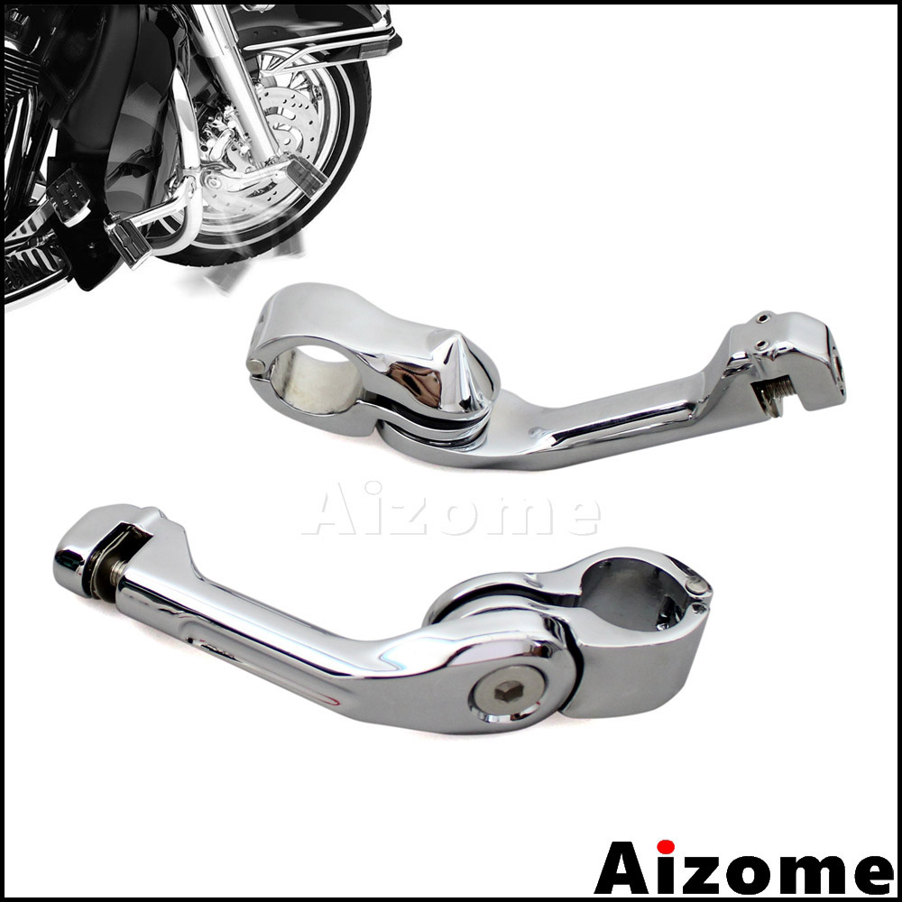 Replacement of 1 25mm Engine Guard Crash Bars Mounts Highway Foot Pegs Gear Skull For Harley Black HTTMT