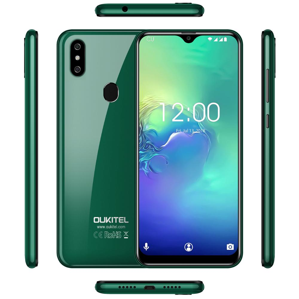 "2019 New OUKITEL C15 Pro 6.088"" 19:9 WaterDrop HD-IPS Smartphone Android 9.0 MT6761 4G 2.4G/5G"