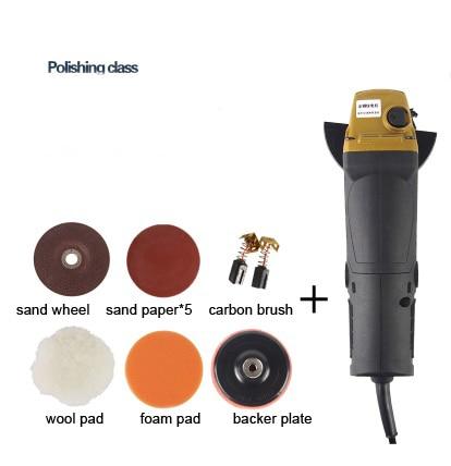 цена на hand use Powerful 1000w 100mm electric Corner Angle Grinder machine polishing kit