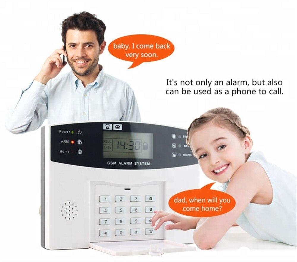 433Mhz Sistema de Alarme da Segurança Home