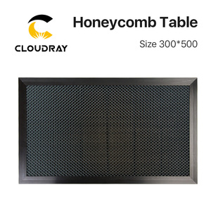 Image 1 - Cloudray Honeycomb Working Table 300*500 mm Customizable Size Board Platform Laser Parts  for CO2 Laser Engraver Cutting Machine