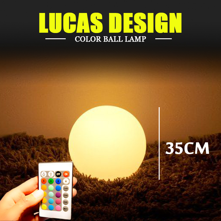 LED Floating Ball RGB Color Changing LED ball led sphere LED Orbs With Remote Control Wedding event table decoration enn vetemaa möbiuse leht teine raamat page 7