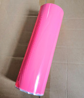 Hot stamping foil pigment foil baby pink color X007 hot press on paper or plastic 64cm x120m or 21cm x 120m heat stamping film