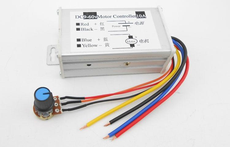 Home Improvement 6.8 50pcs/lot 9v-60v 10a Dc Motor Speed Regulator Pulse Width Modulator Pwm Control Switch Governor Motors & Parts