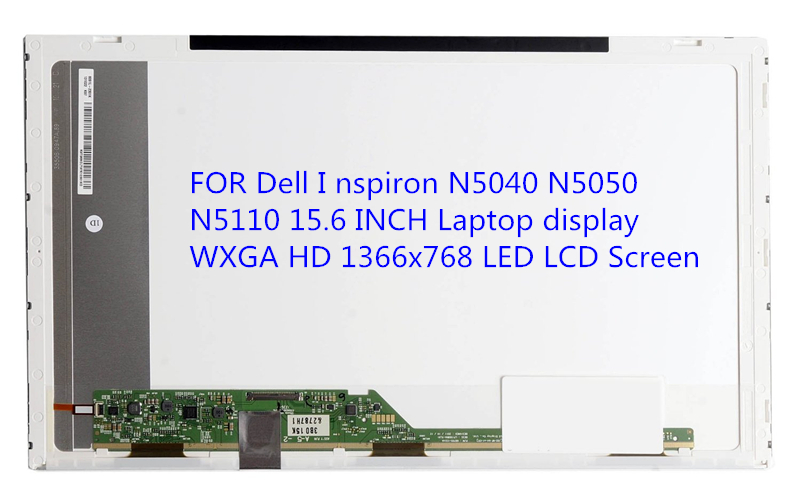 FOR Dell I nspiron N5040 N5050 N5110 15.6 INCH Laptop display WXGA HD 1366x768 LED LCD Screen