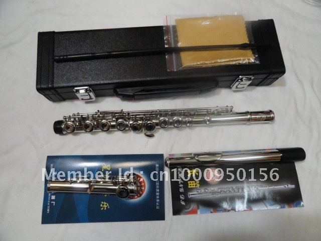 Xinghai Brand 16 Holes Closed Flute Plus The E Key Flute Instrument Surface Nickel Plated Professional Flauta  Instrument very good gift silver to build 16 wells plus the e key obturator flute instrument