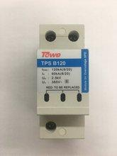 Тоу АП В120 однополярного высокой энергии перенапряжения Имакс:120KA(8/20),до 2,5 кв разрядники тока молнии