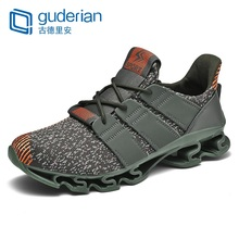 Buy GUDERIAN New Shoes Men Sneakers Breathable Casual Shoes Men Krasovki Comfortable Lace-Up Outdoor Shoes For Men Tenis Hombre directly from merchant!