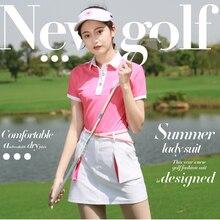 Новая женская юбка для гольфа Спортивная одежда для тенниса одежда для гольфа Высокое качество
