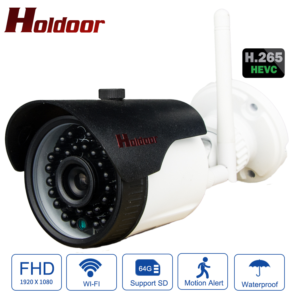 Holdoor Full HD H.265 IMX307 H3516 IP Camera Outdoor Surveillance Camera WiFi IPC Metal Motion Detection Invisible InfraredHoldoor Full HD H.265 IMX307 H3516 IP Camera Outdoor Surveillance Camera WiFi IPC Metal Motion Detection Invisible Infrared