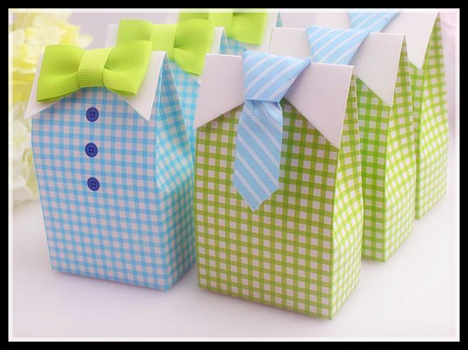 20pcs My Little <font><b>Man</b></font> Blue Green Bow Tie Birthday Boy Baby Shower Favor <font><b>Candy</b></font> Treat Bag Wedding Favors <font><b>Candy</b></font> Box gift Bags