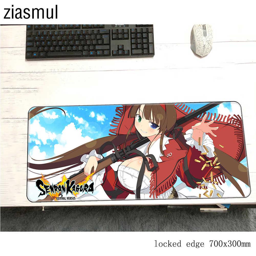 Hikage Anime girl 3D Mouse Pad Wrist Rest 2WAY Game Mousepad Senran Kagura
