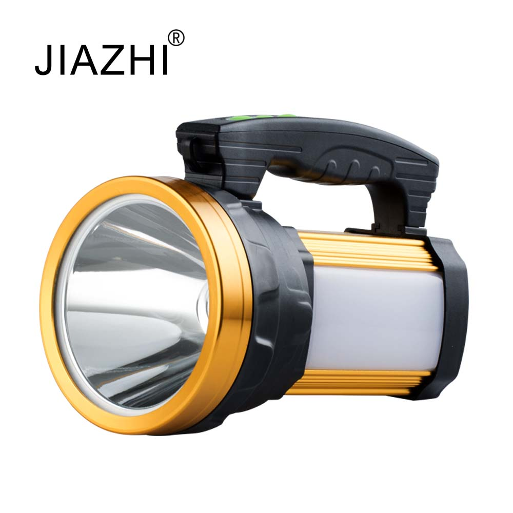 High power portable searchlight rechargeable waterproof hunting night fishing flashlight Built-in battery high power portable spotlight lantern searchlight rechargeable waterproof hunting spotlight built in battery