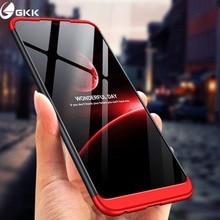4076cda5430 GKK voor Huawei honor 8X case 360 Volledige Bescherming Hard Case  Drie-in-een