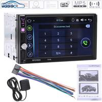VODOOL 7in Touch Screen Bluetooth V3 0 Car Auto Android MP5 Player GPS Navigator With Map